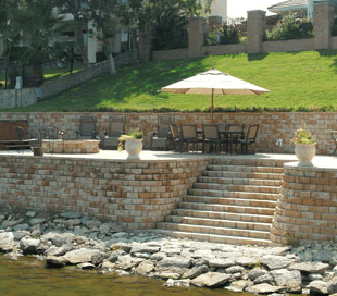 Paved Retaining Wall in Arlington, TX
