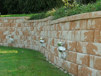 Repaired Retaining Wall in Arlington, TX